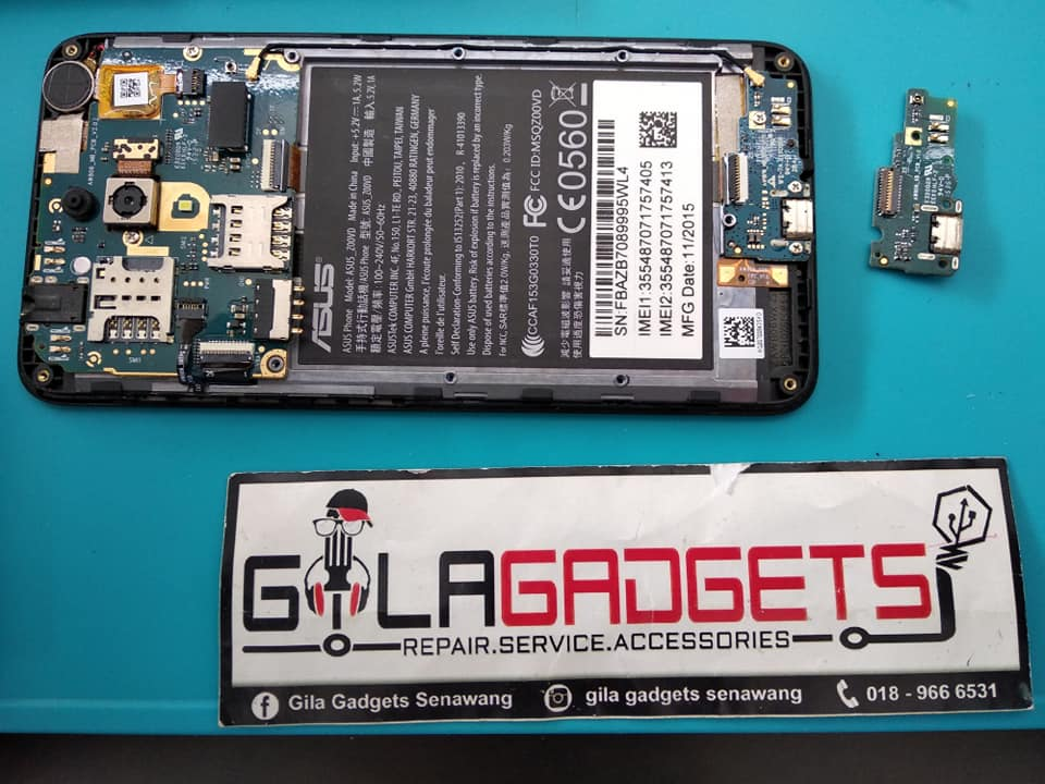 Repair Plug in Asus Zenfone Go 5.0″