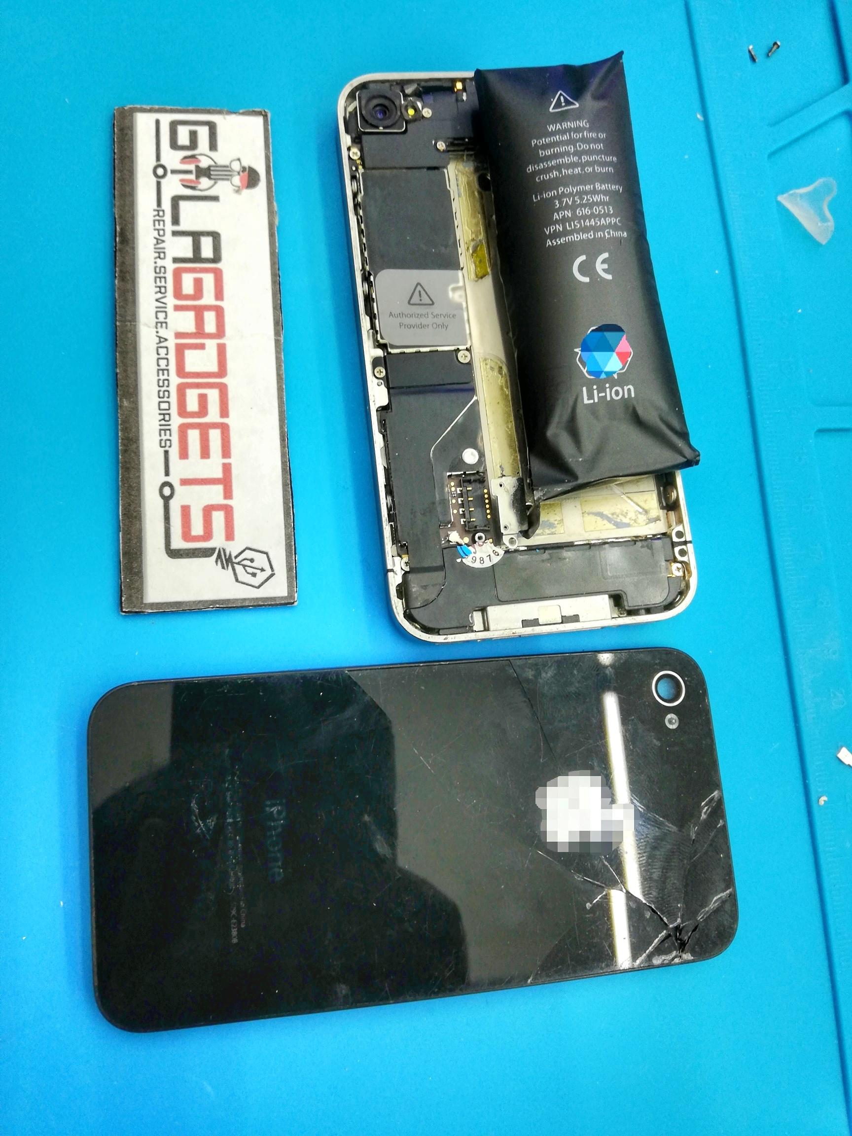 Bateri Kembung iPhone 4 – Taman Permata