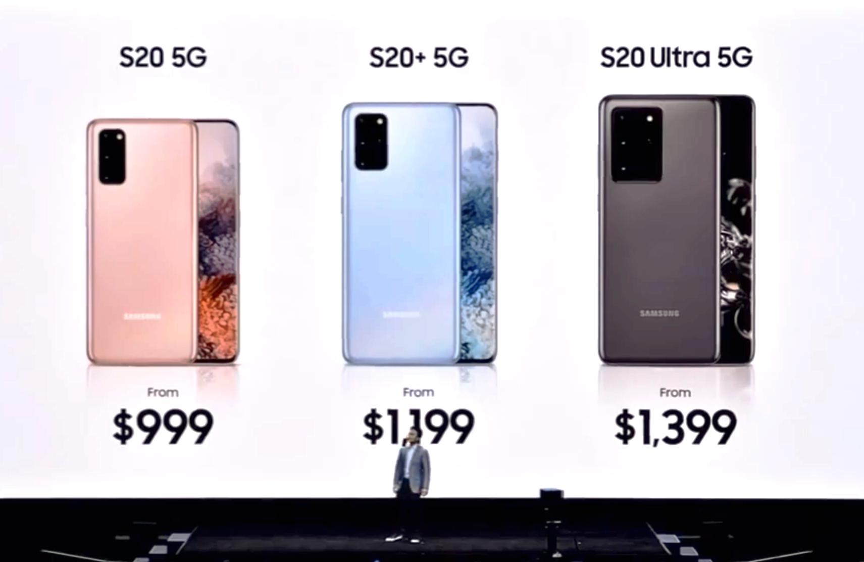 Perbandingan Samsung Galaxy S20, Samsung Galaxy S20+ Dan Samsung Galaxy S20 Ultra