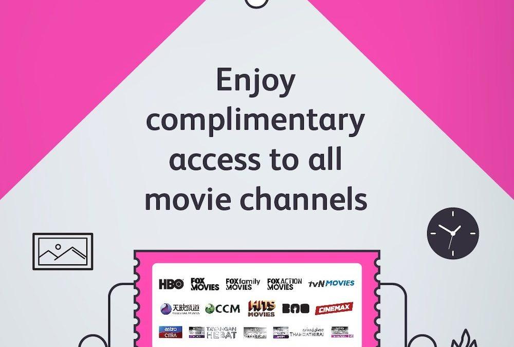 ASTRO Menawarkan Akses Percuma Untuk Semua Saluran Filem