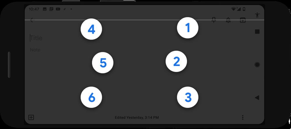 Android Kini Menyokong Papan Kekunci Braille