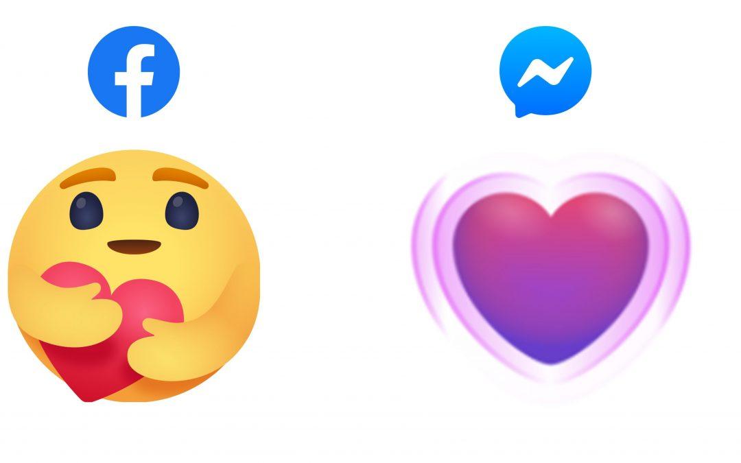 Reaksi Emoji Care Diperkenalkan Pada Aplikasi Facebook Dan Facebook Messenger.