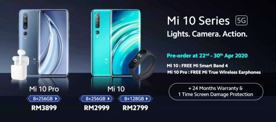 Siri Xiaomi Mi 10 dan Mi 10 Pro Kini Rasmi Di Malaysia