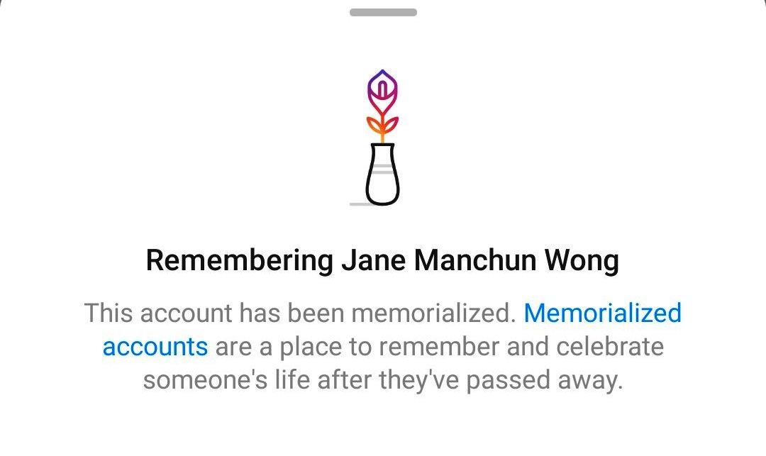 Instagram Sedang Membangunkan Ciri Memorial Akaun Untuk Pengguna Yang Meninggal Dunia.