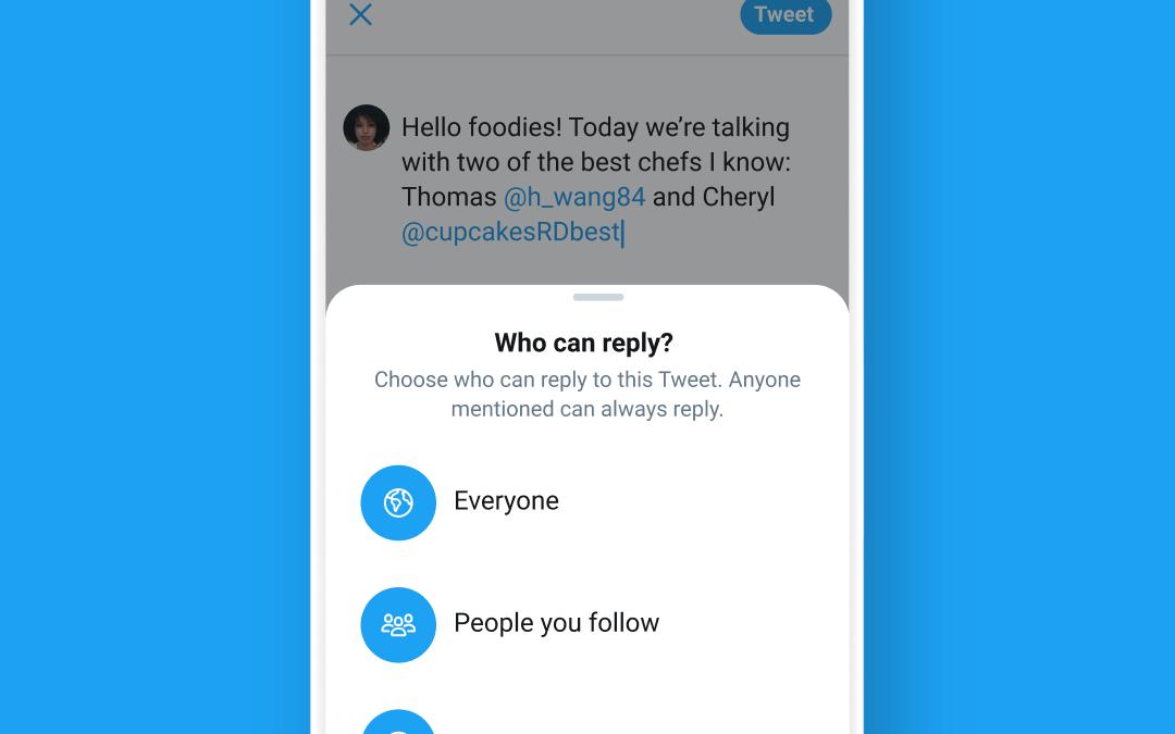 Twitter Sedang  Menguji  Ciri Yang Membenarkan Pengguna Mengehadkan Balasan Pada Ciapan