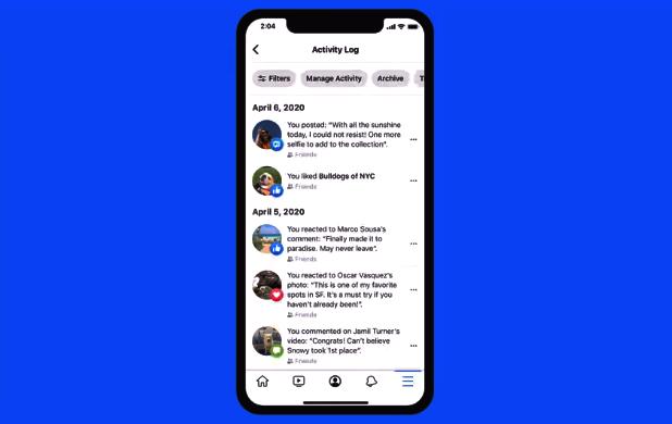 Tetapan Manage Activity Di Facebook Benarkan Pengguna Memadam Status Lama Secara Pukal